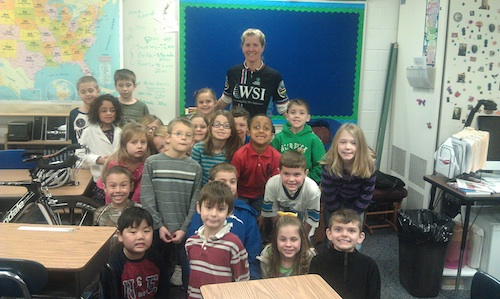 Kathy Roche-Wallace at Wattles Elementary School