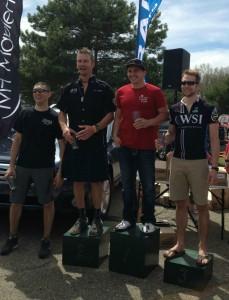 2013 Custer Stampede Sport Singlespeed Podium