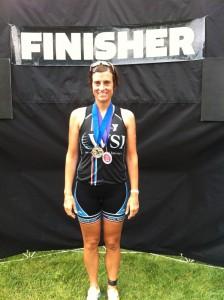 Katie DBA medal
