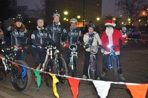 WSI lead out team decked in holiday spirit (photo courtesy of Worthington Photography)