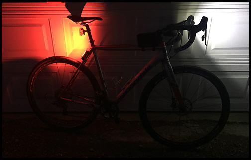 Cross Bike Ready for 100+ Miles, 2am