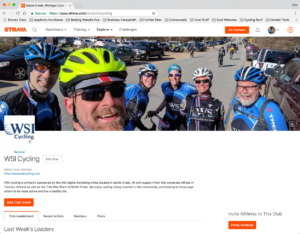 WSI Cycling on Strava
