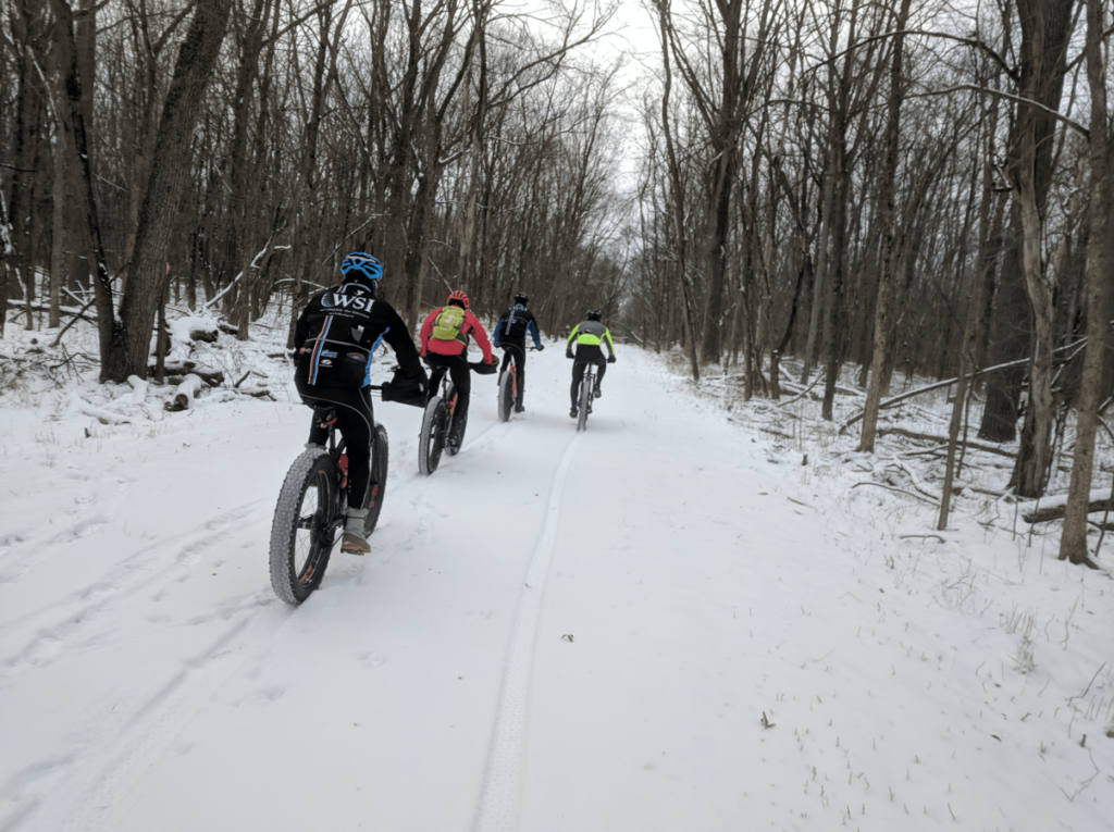 WSI Cycling Riders at Fort Custer