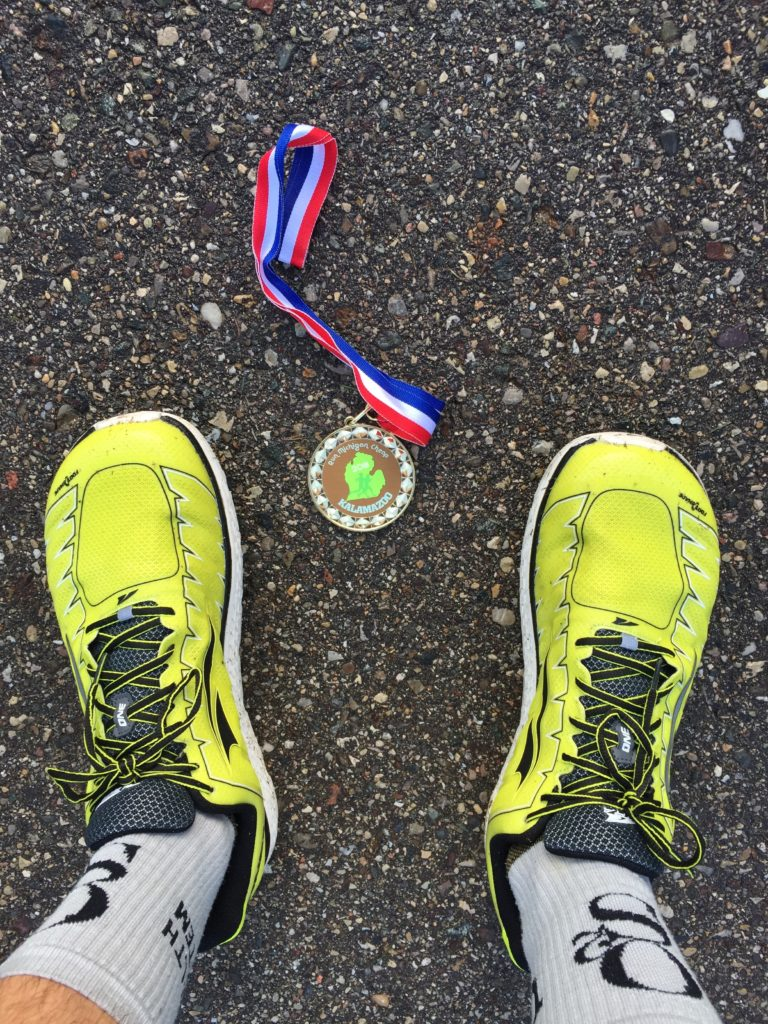Dan's Medal and Shoes