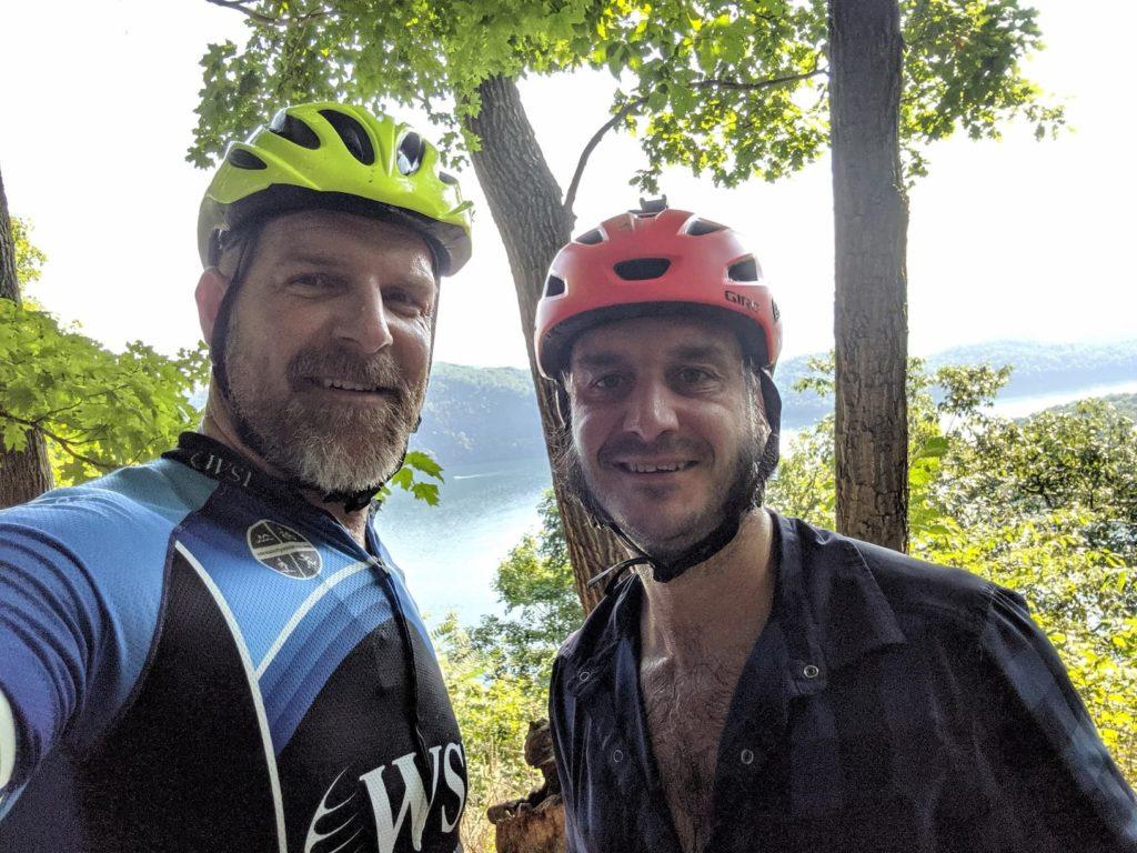Eric and Josh